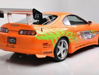 Auto van overleden Paul Walker uit Fast & Furious geveild voor recordbedrag
