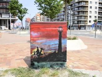 IN BEELD. Nieuwpoort verheft grijze elektriciteitskastjes tot kunst: ga op Tour Elektriek