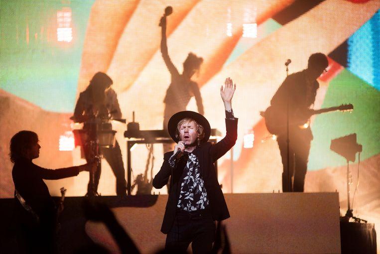 Beck in de AB: een kanonnade van hits Beeld Alex Vanhee