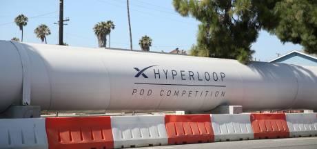 'Met hyperloop binnen half uur van Amsterdam naar Brussel'
