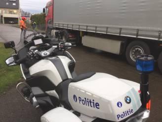 Voor meer dan tweeduizend euro aan boetes geïnd bij controle op zwaar vervoer