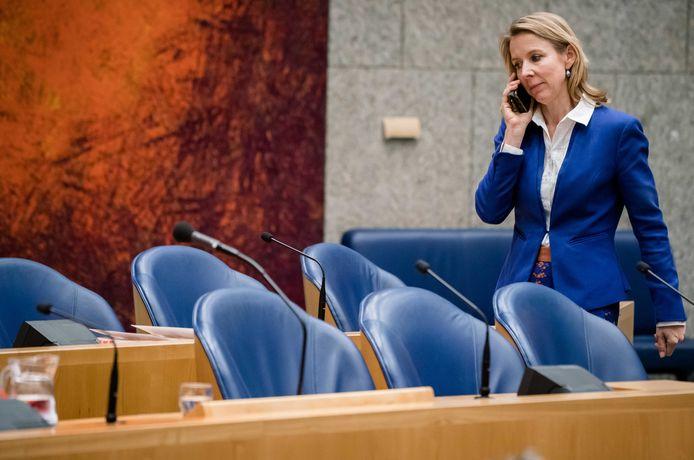 Minister Stientje van Veldhoven.