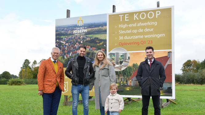 Sylver en Steffi gaan wonen in de laatste nieuwbouwwijk die in Sluis gebouwd mag worden