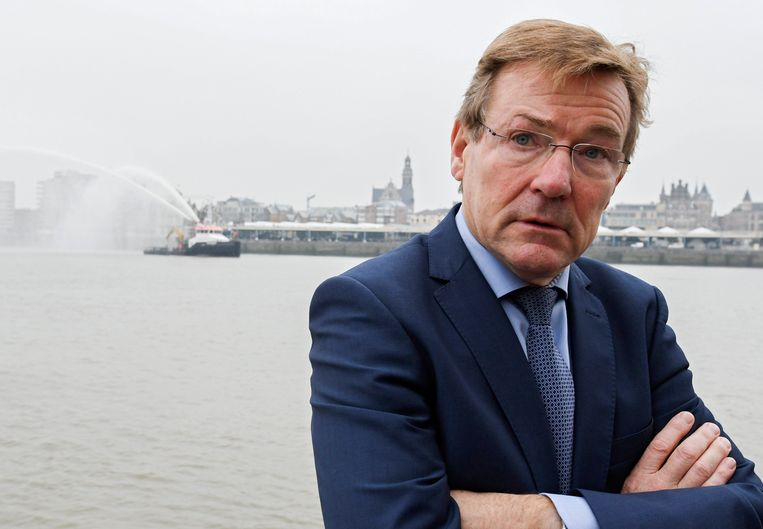 Minister van Financiën Johan Van Overtveldt (N-VA) Beeld Photo News