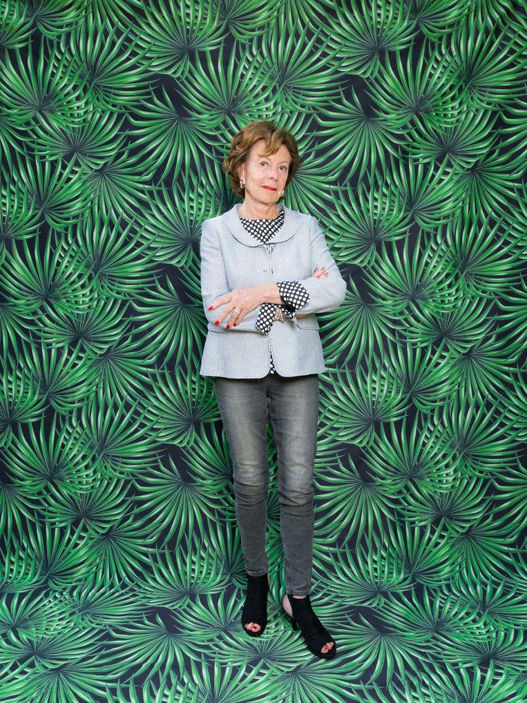 Neelie Kroes: 'De positie van vrouwen gaat mij bijzonder aan het hart.' Beeld Hollandse Hoogte / Ivo van der Bent
