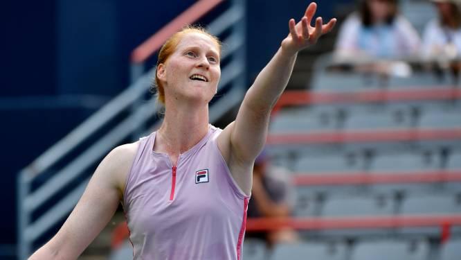 Alison Van Uytvanck rukt op naar halve finales WTA Nur-Sultan