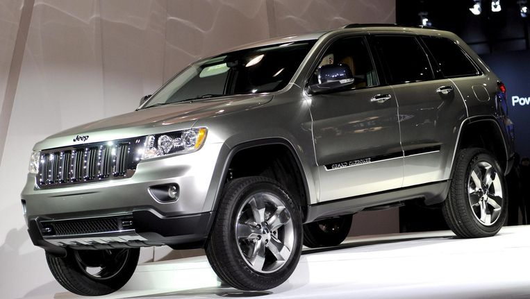 De nieuwe Jeep Grand Cherokee. Beeld epa