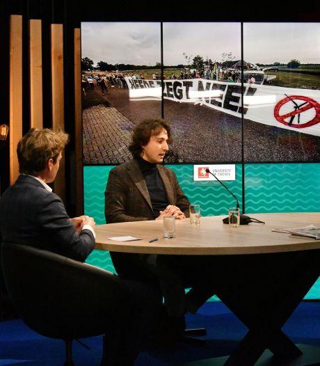 TERUGKIJKEN | Lijsttrekker Jesse Klaver in gesprek met Twente