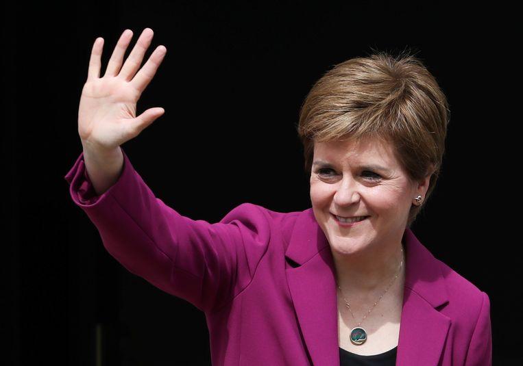 Schotse premier Nicola Sturgeon. Beeld REUTERS