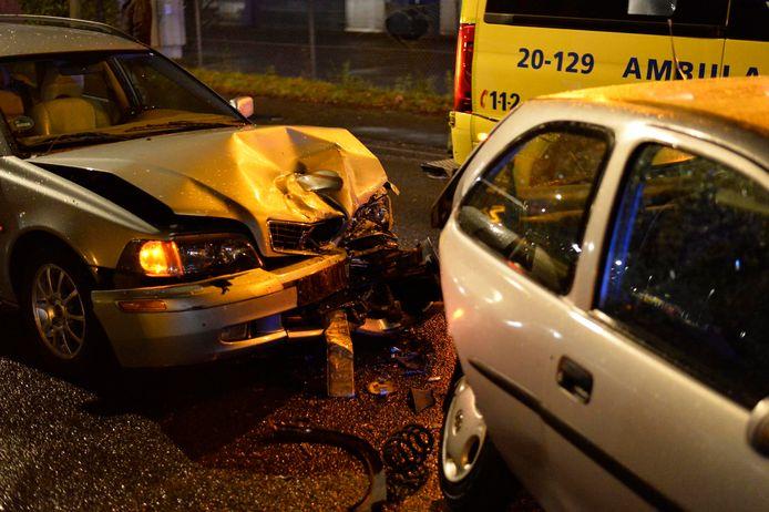 Gewonde bij ongeval in Breda.