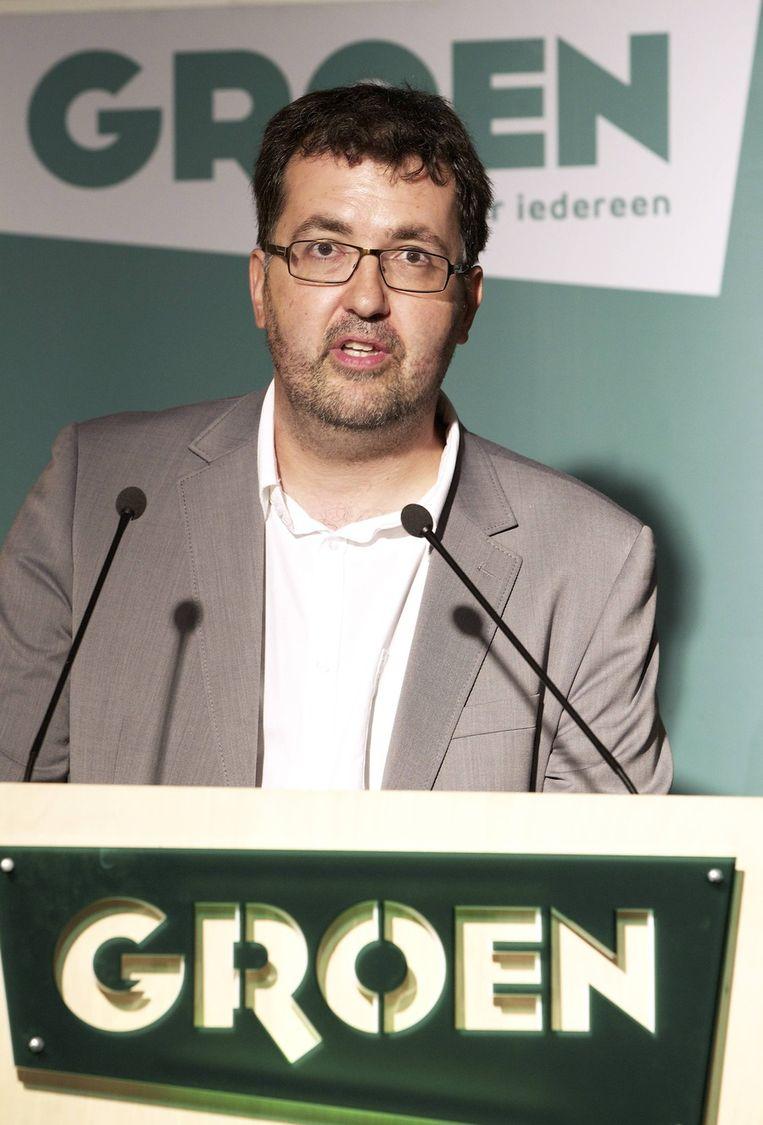 Groen-voorzitter Wouter Van Besien. Beeld BELGA