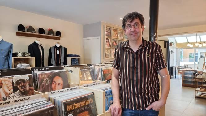 """BINNEN KIJKEN. Dertig jaar na Doctor Vinyl opent Steven opnieuw platenwinkel: """"Totaalbeleving voor jonge en oudere muziekliefhebbers"""""""