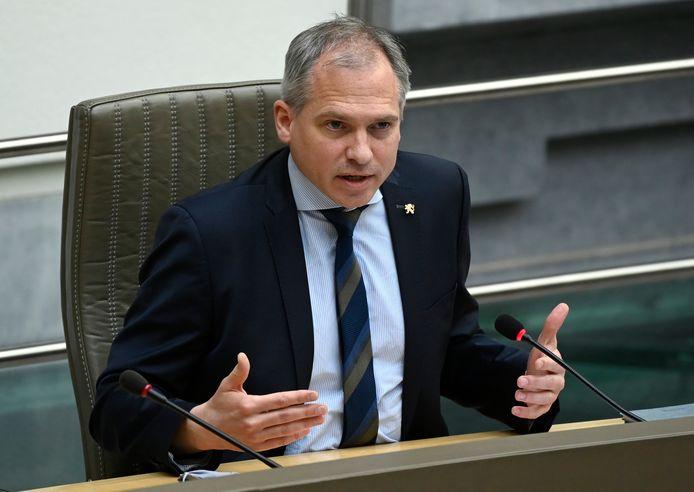 Minister van Financiën en Begroting Matthias Diependaele (N-VA)