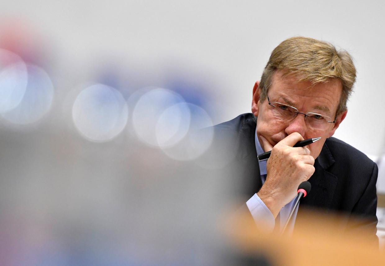 Gewezen minister van Financiën Johan Van Overtveldt (N-VA).