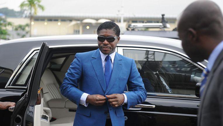 Beeld van Teodorin Obiang, de foto werd genomen in 2013. Beeld afp
