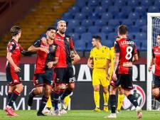 Genoa speelt zich zonder Schöne simpel veilig, Lecce derde degradant