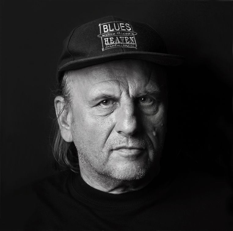 Harry Muskee. In documentaire Talkin' Blues gaat Jan Douwe Kroeske op zoek naar zijn muzikale erfenis.  Beeld Rudy Leukfeldt