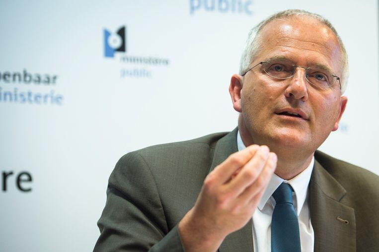Johan Delmulle, procureur-generaal van Brussel. Beeld a