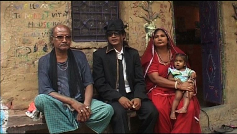 Michael Jackson-imitator uit India Beeld