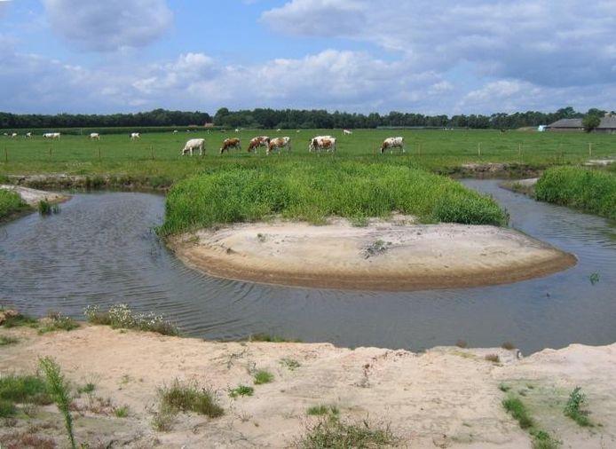 De Groote Beerze.archieffoto Waterschap de Dommel