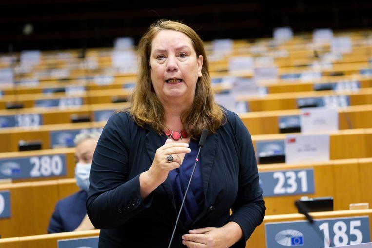 Agnes Jongerius.  Beeld Europees Parlement