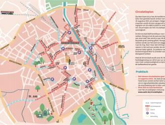 """Nieuw circulatieplan in voege op 16 augustus: """"Zone 30 binnen de ring, 7 fietslijnen en 14 straten met andere circulatie"""""""