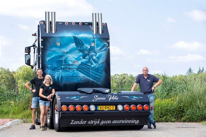 """johan Folmer uit Kesteren doet met zijn truck mee  aan """" Truckstar, Mooiste Truck van Nederland 2021'"""