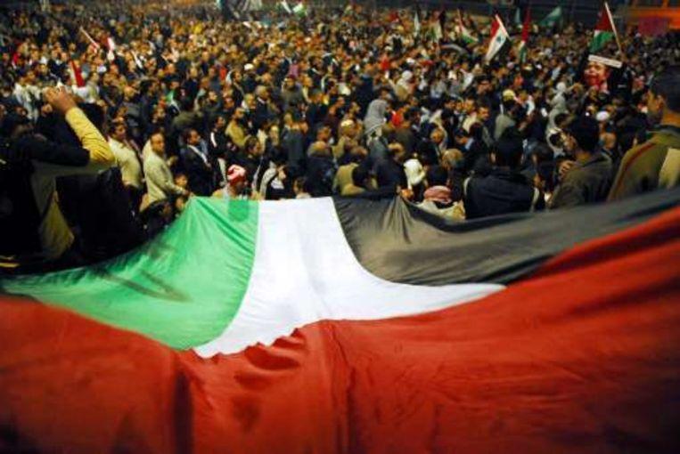 De Palestijnen sluiten de rangen.
