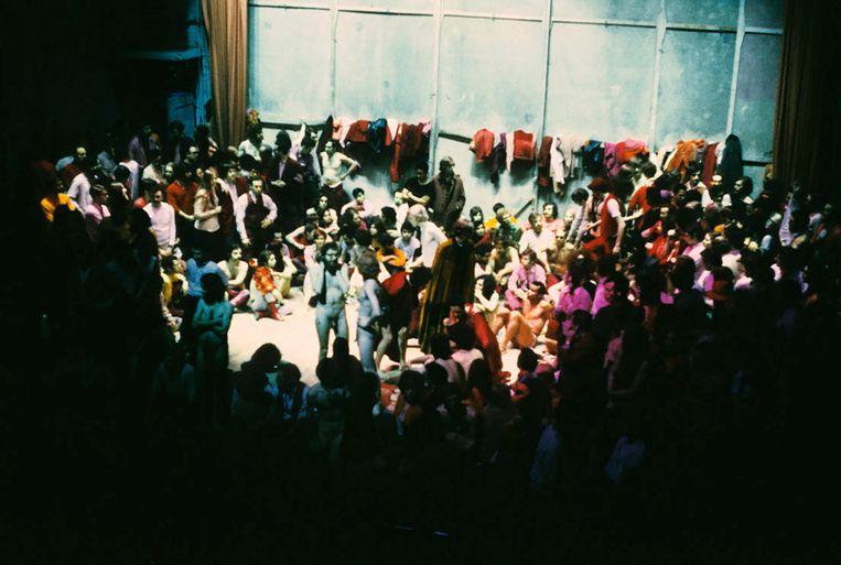 Een voorstelling van het orignele 'Paradise Now' in 1968. Beeld RV © Don Snyder