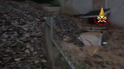 Stevige modderstroom veroorzaakt grote schade in Italiaanse gemeente