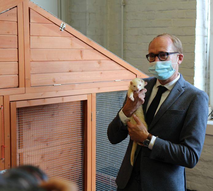 Minister voor Dierenwelzijn Ben Weyts (N-VA)