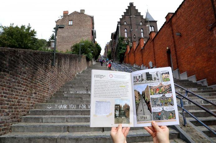 """Deux parcours sont disponibles : """"Autour de Hors-Château"""" et """"D'une cathédrale à l'autre""""."""