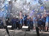 Zo werd de promotie van De Graafschap gevierd