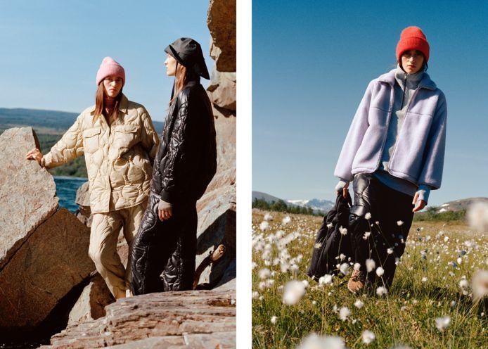 De outdoorcollectie van Arket is verkrijgbaar via arket.com.
