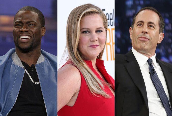 De best betaalde comedians van 2019.