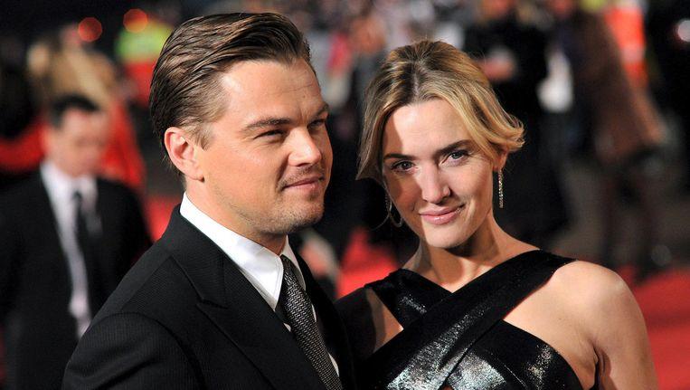 Rozen verwelken, de Titanic is vergaan, maar de vriendschap tussen DiCaprio en Winslet zal voor altijd blijven bestaan. Deze foto werd in 2008 genomen van de twee. Beeld Belgaimage