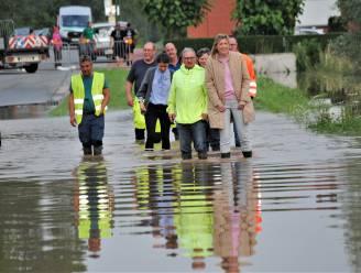 Door wateroverlast getroffen Linter krijgt bezoek van minister Verlinden