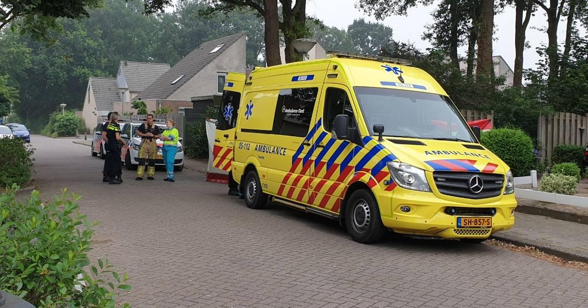 Vrouw overleden na ongeval in Enschede.