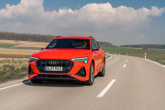 De Audi e-Tron Sportback