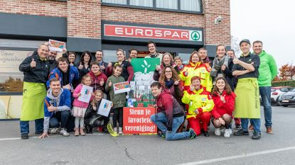 Eurospar steunt acht Denderleeuwse verenigingen met actie