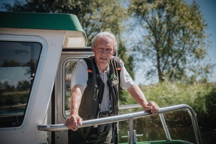 Boswachter Jacques van der Neut gaat met pensioen.