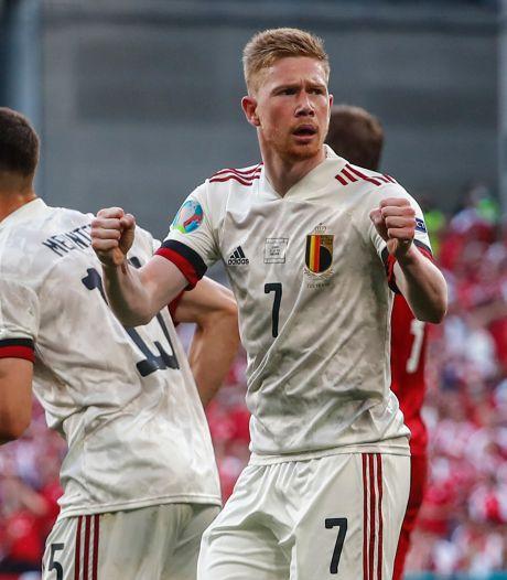 La souffrance avant la délivrance: la Belgique renverse le Danemark grâce à ses stars et se qualifie pour les huitièmes