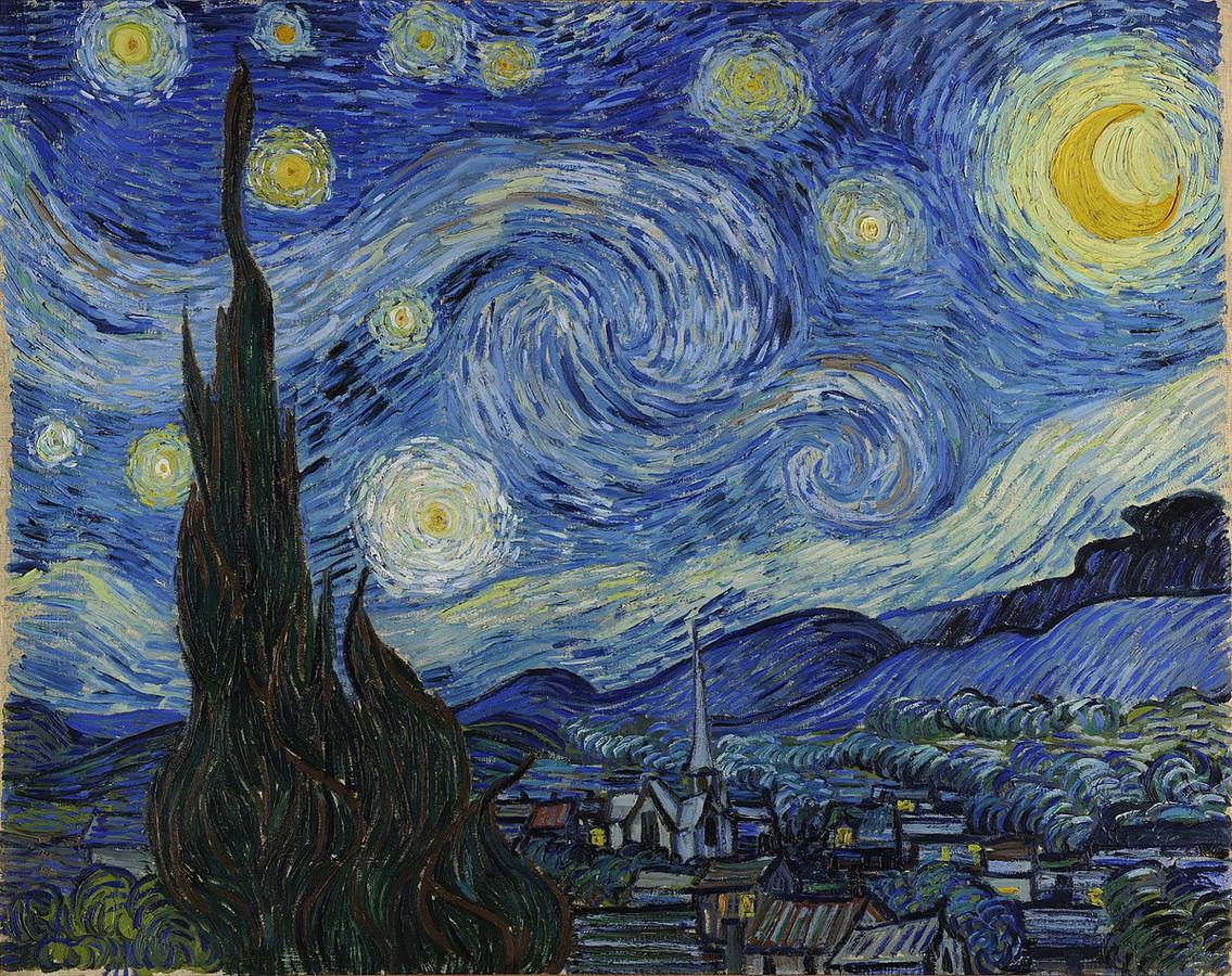 Het schilderij van Van Gogh