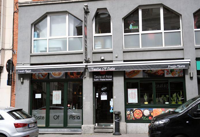 Taste of Asia in de Brusselsestraat in Leuven.