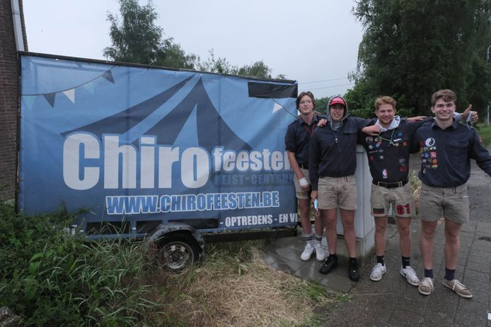 De Chirofeesten vinden dit jaar plaats aan de Oude Liersebaan