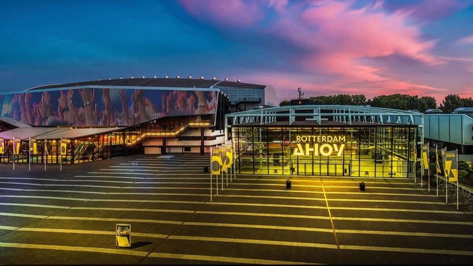 Ahoy, de beoogde thuisbasis van het Eurovisie songfestival anno 2020.