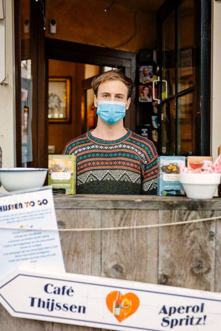 Jurre van Café Thijssen. Beeld Marc Driessen