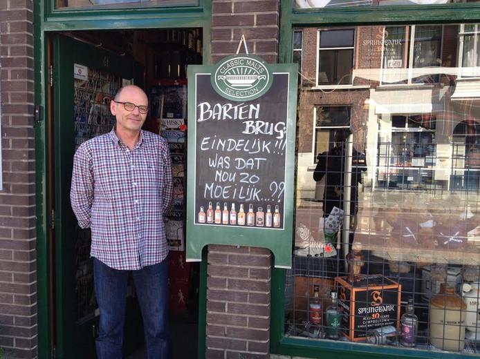 Rob Stevens van whiskyslijterij De Koning