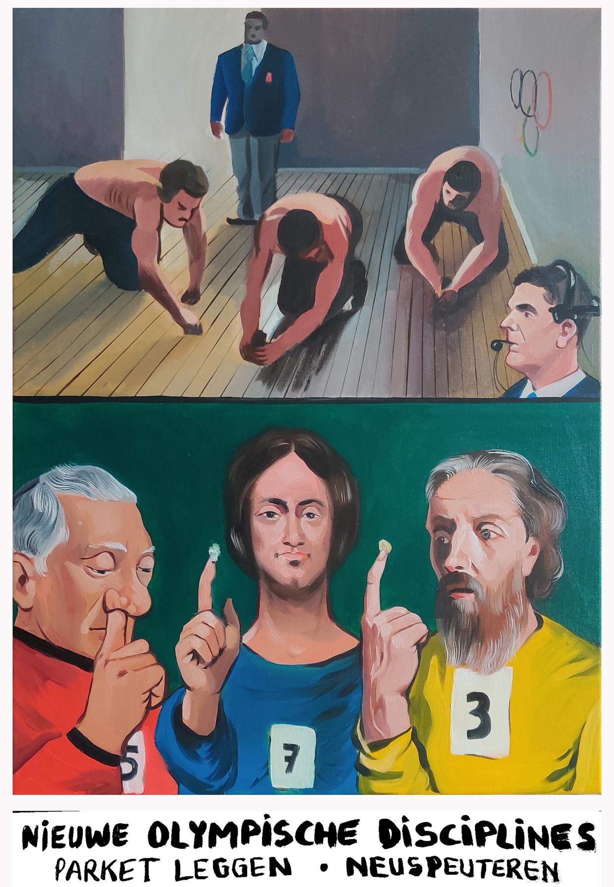 Kama & Seele 31: nieuwe Olympische Discipline Beeld Kamagurka & Herr Seele