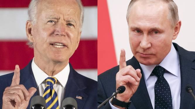 """Van """"hij heeft geen ziel"""" tot """"wat je zegt ben je zelf"""": ontmoeting tussen Biden en Poetin belooft vuurwerk"""